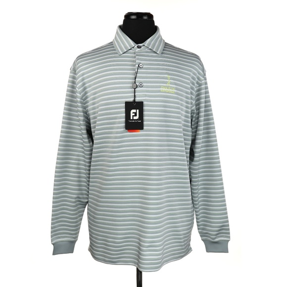 FootJoy Other - NWT FootJoy FJ Long Sleeve Golf Polo Shirt
